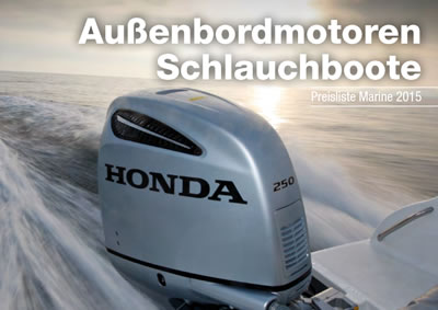 Honda Marine Aussenborder By Wassersport Heinemeyer